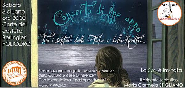 """Concerto musicale dell'orchestra """"Giovanni Paolo II"""""""